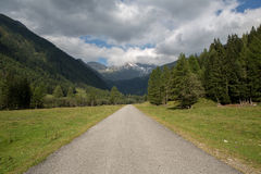 On the road in Austria Royalty Free Stock Images