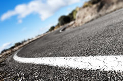 Road background Stock Photography
