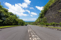 Road in Bali Stock Photography