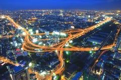 Road, Bangkok. Royalty Free Stock Images