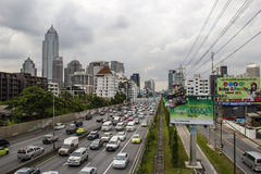 A road in Bangkok Royalty Free Stock Photography