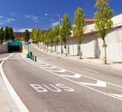 Road in Barcelona Stock Photo