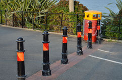 Road barrier Royalty Free Stock Photography