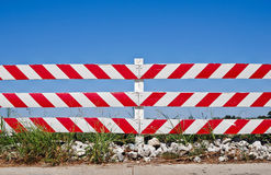 Road barrier Stock Photos