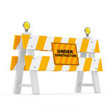 Road Barrier Royalty Free Stock Photo