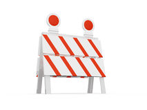 Road Barrier Stock Photography