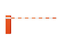 Road Barrier for Entrance Stock Photos