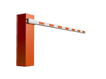 Road Barrier for Entrance Stock Photography