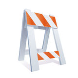 Road Barrier Illustration Royalty Free Stock Photos