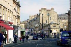 Road in Bath, UK Royalty Free Stock Photo