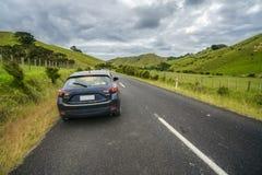 On the Road at Coromandel Peninsula, New Zealand 1 Royalty Free Stock Image