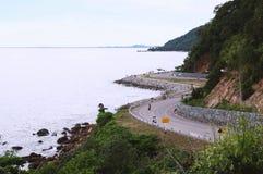 เนินนางพญา. Beautiful view from chanthaburi Thailand royalty free stock photos