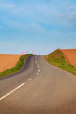 Road bend Stock Photography