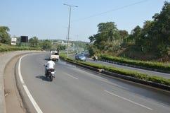 Roads of Madhya pradesh, India Stock Photography