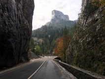 Road in the Bicaz Gorge Stock Image