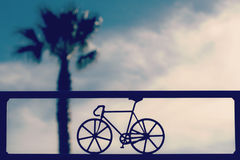 Road Bicycle Illustration Stock Images