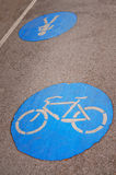 Road for bicycles Stock Image