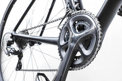 Road bike gear components Royalty Free Stock Photo