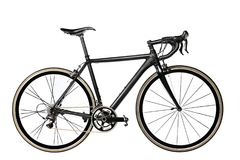 Road bike on white background. Royalty Free Stock Photos