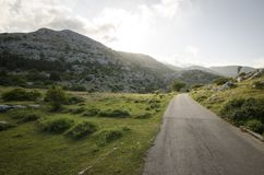 A road in Biokovo mountain, Croatia Stock Photos