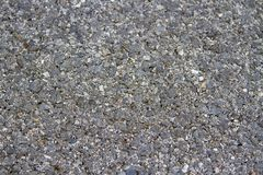 The road is black granite in the daytime Royalty Free Stock Photography