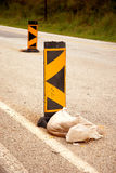 Road block Royalty Free Stock Photos