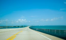 Road with blue sky Royalty Free Stock Image