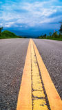 Road blue sky Stock Images