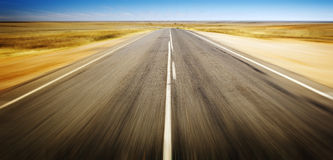 Road Blur Royalty Free Stock Images