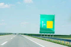 Road board Royalty Free Stock Photography