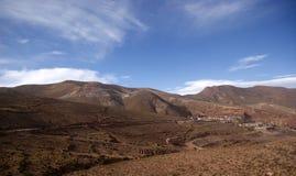 Road in Bolivia Royalty Free Stock Photo