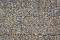 Road Brick. Worm Block Worm Royalty Free Stock Images
