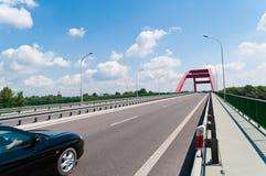 Road on bridge Royalty Free Stock Image