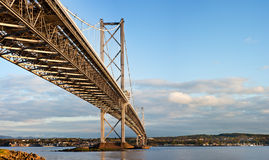 Road bridge across the Firth of Forth Stock Image
