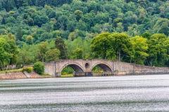 Road bridge, Argyll County, Scotland Royalty Free Stock Photo