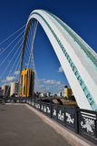 Road bridge in Astana Stock Photography