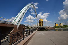 Road bridge in Astana Royalty Free Stock Photos