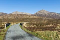 Road and Bridge Isle of Skye Stock Photography