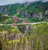 Road Bridge over a Deep Gorge Stock Images