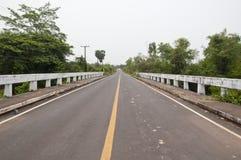 Road and bridge Royalty Free Stock Image