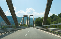 Road bridge Stock Images
