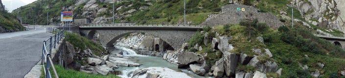 Road and bridges Stock Photo