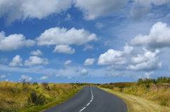 Road of Brittany (France) Stock Image