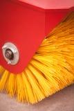 Road brush sweeping machine Stock Photos
