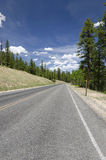 Road in Bryce Canyon Royalty Free Stock Photography
