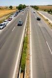 Road in Burgas, Bulgaria Royalty Free Stock Image