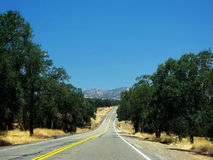 Road in California Royalty Free Stock Photos