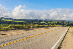 Road in California Hills Stock Photo