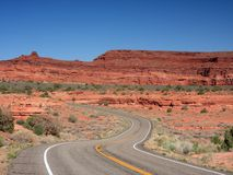 Road in Canyonlands Royalty Free Stock Photography