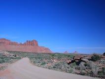 Road in Canyonlands National Park, Utah Stock Photo